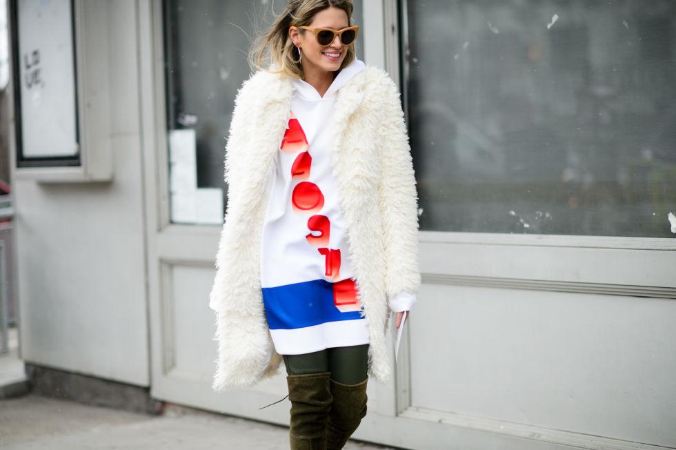 Is it a hoodie? Is it a dress? It's your new favorite wardrobepiece!